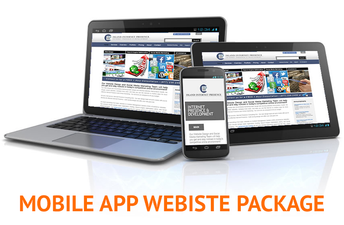 MOBILE APP WEBSITE PACKAGE
